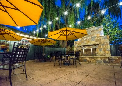 Village Tavern Dining Patio